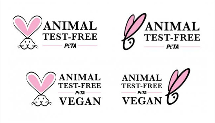 If you see these logos on packaging, the brand doesn't test on animals