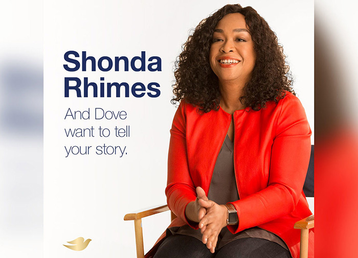 Shonda Rhimes Partners with Dove for Real Beauty Productions
